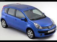 Накладки на пороги Nissan Note