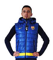 Спортивная куртка (безрукавка) Nike Барселона #2