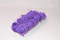 Роза латексная фиолетовая с фатином