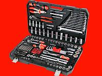 Yato YT-38941 большой набор инструментов в чемодане 1/4″, 3/8″, 1/2″ 3-32мм