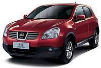 Накладки на пороги Nissan Qashqai (2007-2010)