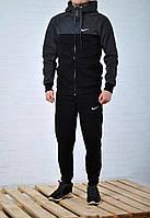 Мужской спортивный костюм Nike теплый (S, M, L, XL размеры)