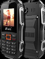 E&L K6900, IP68, 2000 мАч, 2 SIM, фонарик, Corning Gorilla Glass 3. Военный стандарт защиты MIL-STD-810G