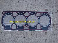 Прокладка головки блока Зил 5301, Бычок,  с герметиком (производитель Россия)