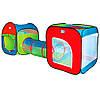 Палатка детская игровая с тоннелем 999-147