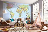 Фотообои Komar XXL4-038 World Map