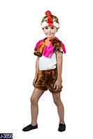Карнавальный костюм ПЕТУШОК, ПЕТУХ  №2 (меховая накидка)