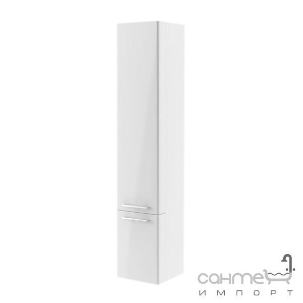 Мебель для ванных комнат и зеркала Ravak Пенал подвесной Ravak Ring  L левосторонний X000000771 фасад белый
