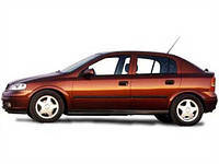 Накладки на пороги Opel Astra G