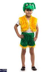 Детский карнавальный костюм КУЗНЕЧИК (меховый) 3,4,5,6,7 лет, детский новогодний костюм КУЗНЕЧИКА маскарадный
