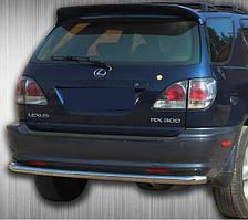 Защита заднего бампера на Lexus RX (1997-2003)