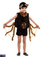 Карнавальный костюм ПАУК, ПАУЧОК МЕХОВЫЙ на деток от 3 до 6 лет