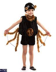 Детский карнавальный костюм ПАУК, ПАУЧОК  на деток 3,4,5,6 лет, детский новогодний костюм ПАУКА маскарадный