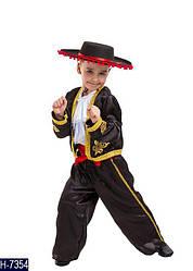 Карнавальный костюм ИСПАНЕЦ, ТОРЕАДОР для мальчика 4,5,6,7,8,9 лет детский маскарадный костюм ИСПАНЦА