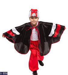 Детский карнавальный костюм ДЯТЕЛ, ПТИЦА для детей 4,5,6,7,8,9 лет, детский новогодний костюм ДЯТЛА, ПТИЦ