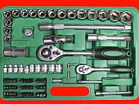 """Набор инструментов для автомобиля на 72 единицы, 1/2"""" и 1/4"""", Cr-V Intertool ET-6072SP"""