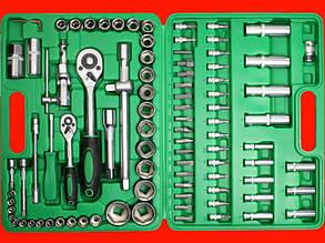 Набор инструментов для авто на 94 единицы Intertool ET-6094