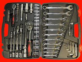 Набор инструментов для авто на 77 единиц Intertool ET-6077