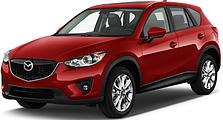 Защита заднего бампера Mazda CX-5 (c 2012--)