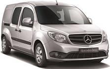 Защита заднего бампера Mercedes Citan (c 2012--)