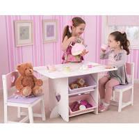 Детский стол сящиками и двумя стульчиками Star Table & Chair Set KidKraft 26913 - розовый