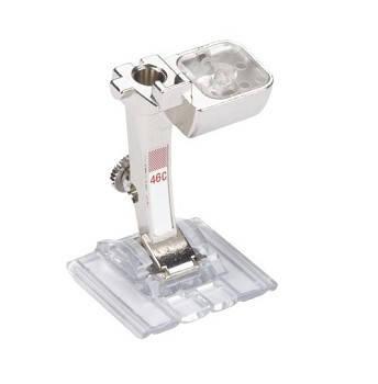 Лапка для защипов с прозрачной подошвой №46С