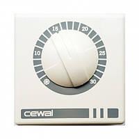 Cewal RQ01 16A - терморегулятор настенный механический, фото 1