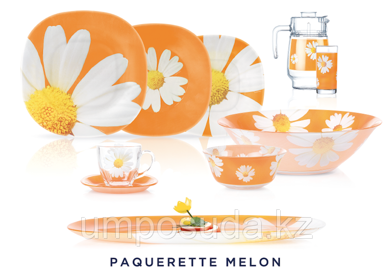 Paquerette Melon Сервиз столовый 46 пр. Luminarc N4800