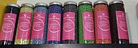 Воск пленочный для депиляции Hard wax beans в гранулах 400 g в стеклянной банке,разные ароматы