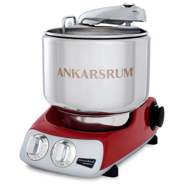 Тестомес AKM6230R  1500 Вт  Ankarsrum Assistant Original, красный