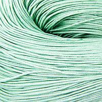 Шнур Вощеный Хлопковый, Цвет: Салатовый, Размер: Толщина 0.7мм, около 80м/связка, (УТ100005743)