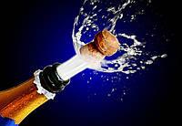 Фотообои: Брызги шампанского