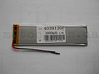 Аккумулятор Батарея для планшета (4*39*130мм) 3000 mAh