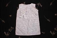 Очаровательное платье из гипюра