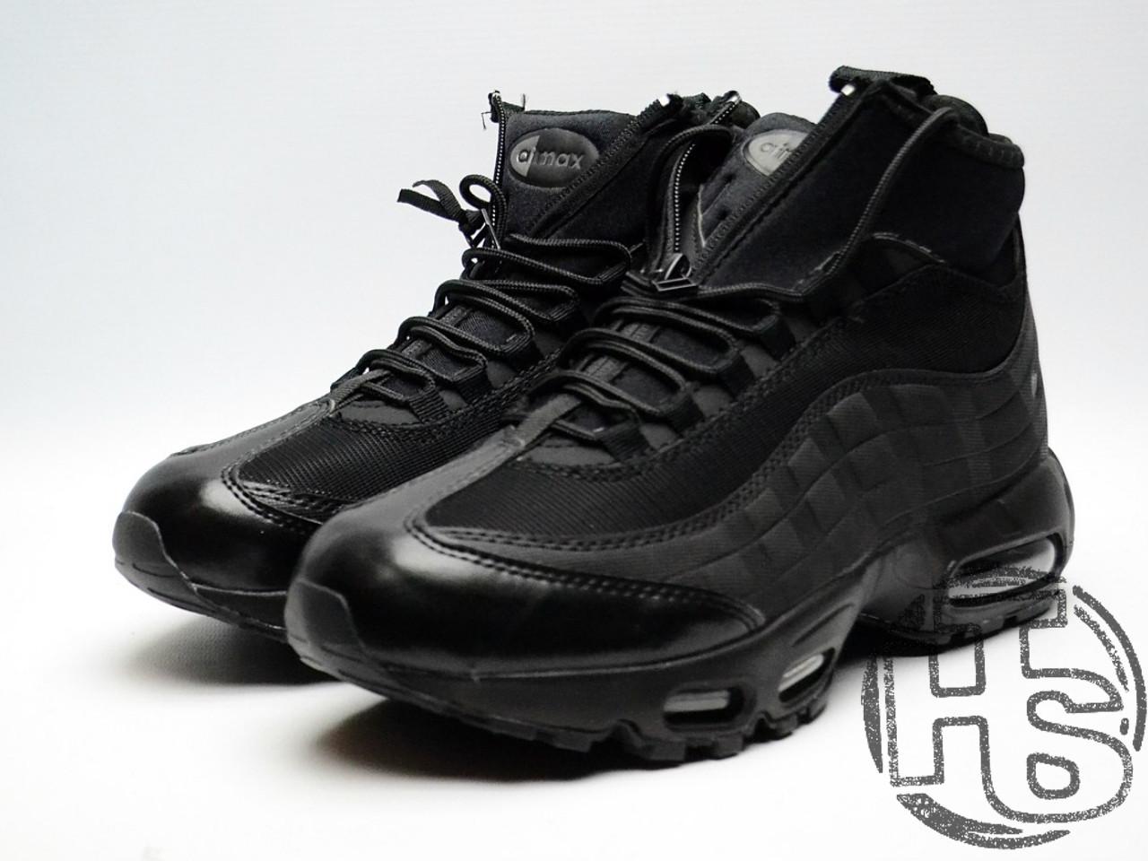 a62db359 Мужские кроссовки Nike Air Max 95 Sneakerboot Triple Black 806809-002, цена  1 379 грн., купить в Львове — Prom.ua (ID#585673453)