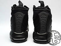05845192 Мужские кроссовки Nike Air Max 95 Sneakerboot Triple Black 806809-002, фото  3