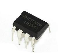 Микросхема LM358P DIP8