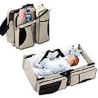 Рюкзак-переноска для ребенка (кенгурушник) Ganen baby bed and bag