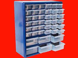 Контейнер с 42 ящиками для хранения мелких предметов Intertool BX-4011