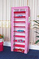 Тканевый шкаф для обуви и аксессуаров Shoe Rack and Wardrobe YQF-2266