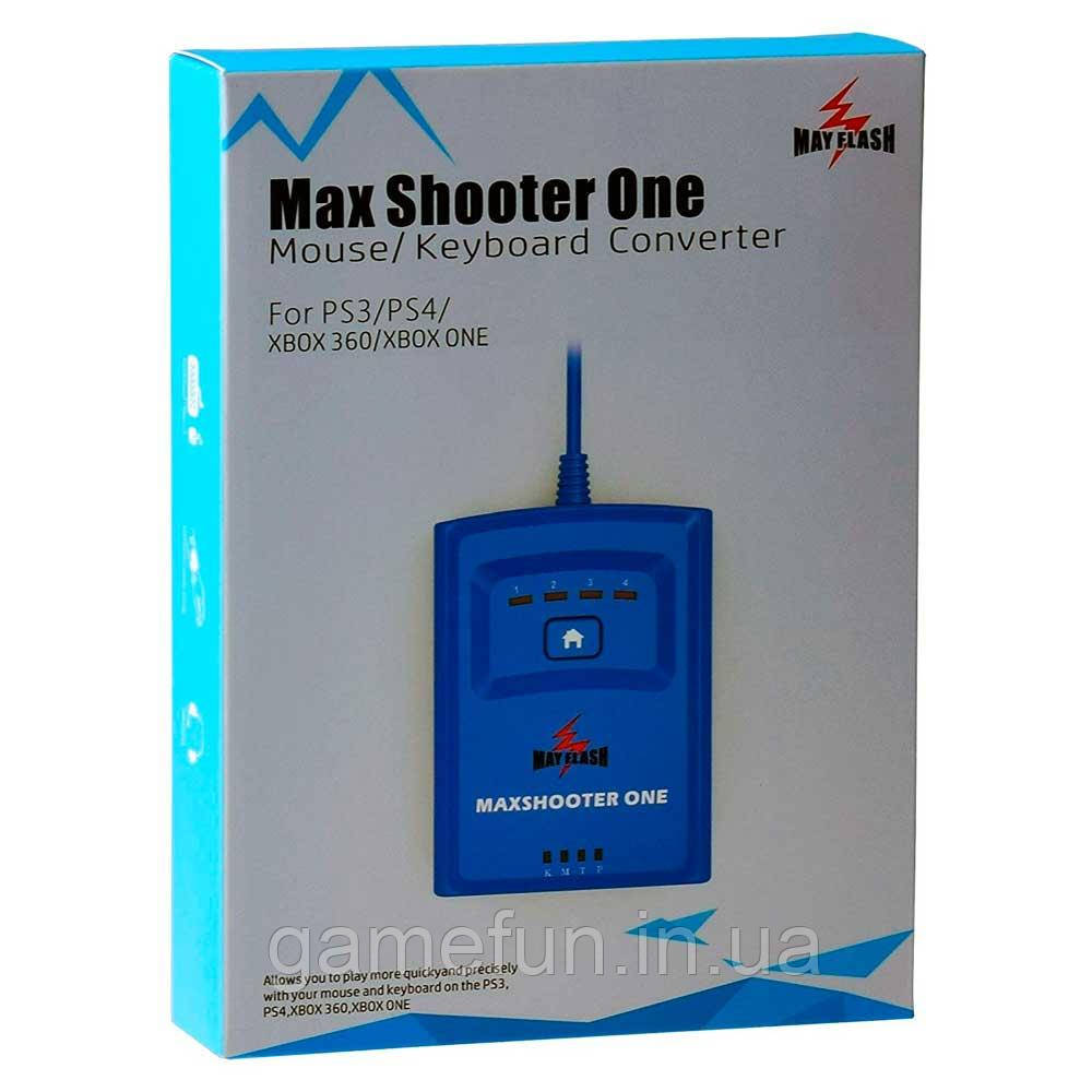 Max Shooter One Mouse/Keyboard /PS3/PS4/XBOX 360/XBOX ONE
