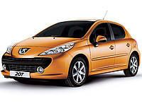 Накладки на пороги Peugeot 207 (2006+)
