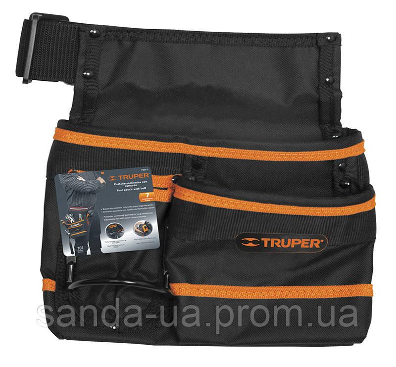 Сумка для инструментов ,7 карманов,Truper,PONY-7