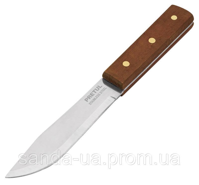 Нож кухонный, деревянная ручка Truper, CUCH-M60
