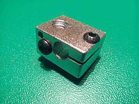 Нагревательный блок экструдера E3D V6 , MK7, MK8 3D-принтера
