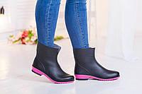Женские резиновые ботинки недорого Украина