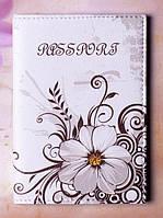 Обложка на паспорт с красочным принтом, материал эко-кожа, 90