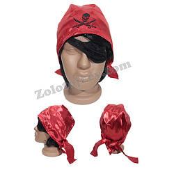 Набор Пирата бандана и повязка на глаз