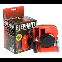 Звуковой сигнал воздушный 12v красный Elephant Nautilus Compact CA-10355