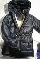 Детское зимнее пальто на овчине оптом 92-116